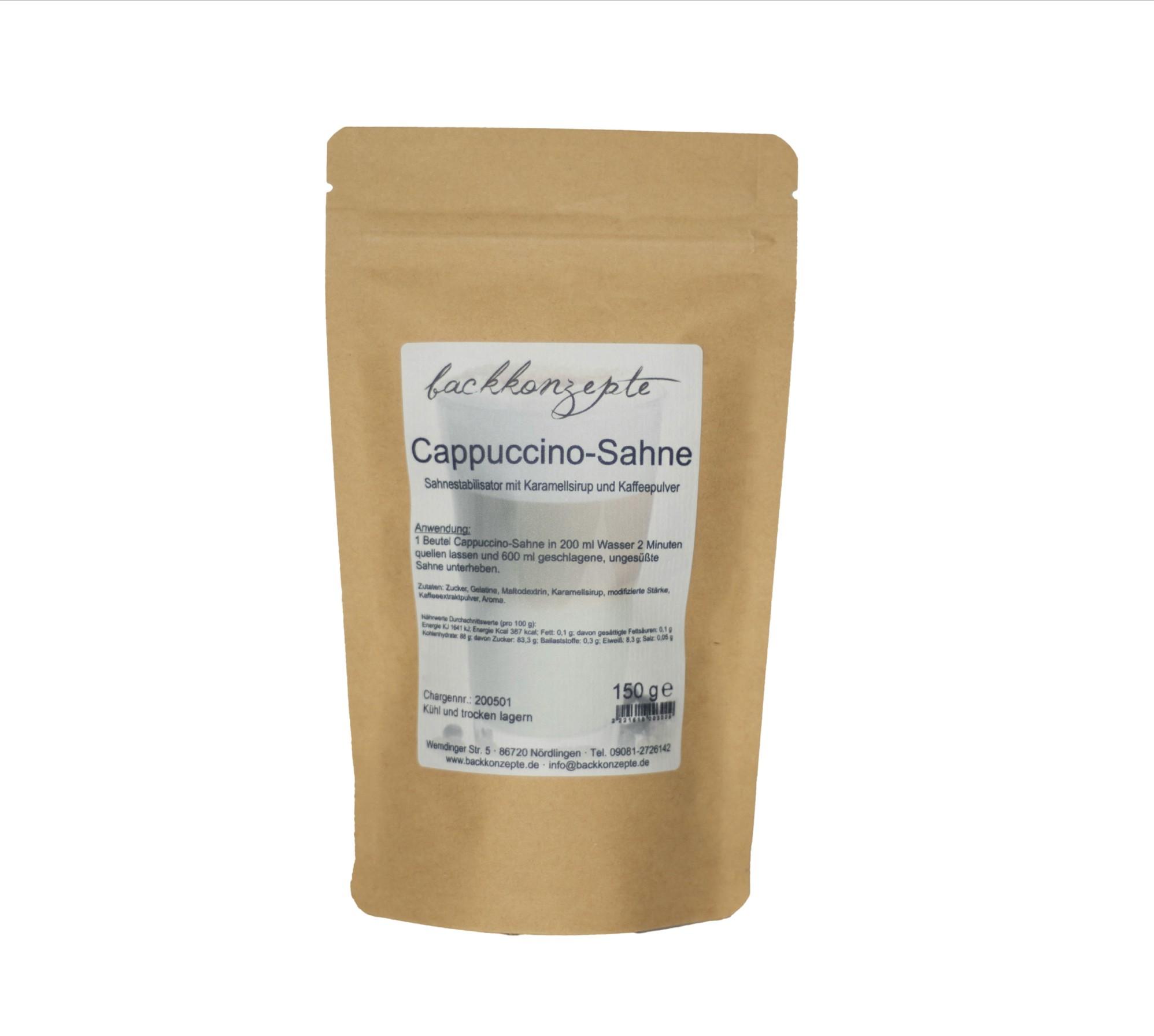 Cappuccino-Sahne 150g