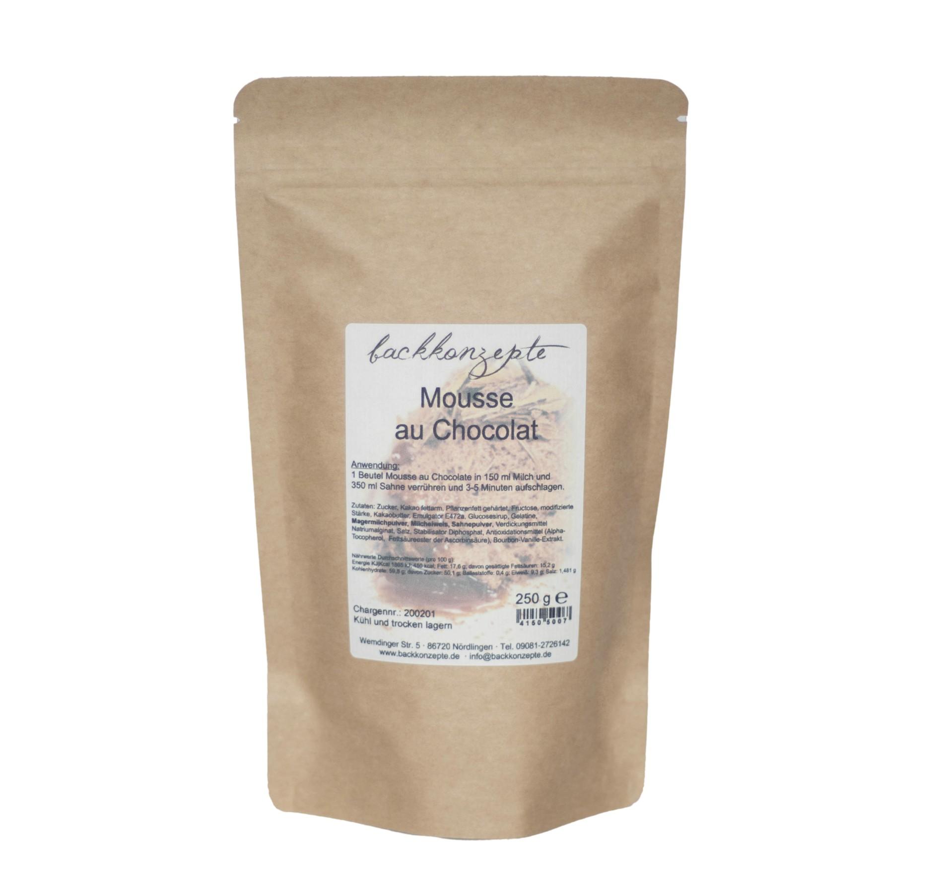 Mousse au Chocolat 250g
